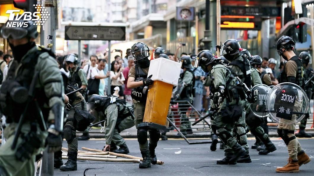 圖/達志影像美聯社 英國發布香港問題半年報告 籲反送中採政治解決