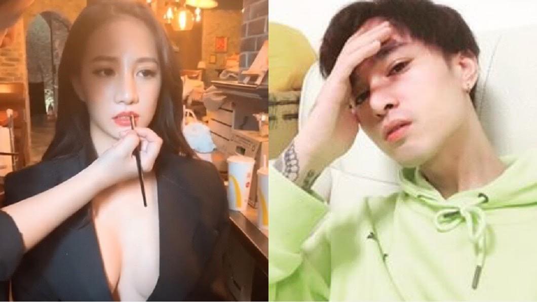圖/翻攝自胡睿兒臉書、林采緹IG 認了半年無性重傷妻!胡睿兒「她是天使」:我沒有任何怨