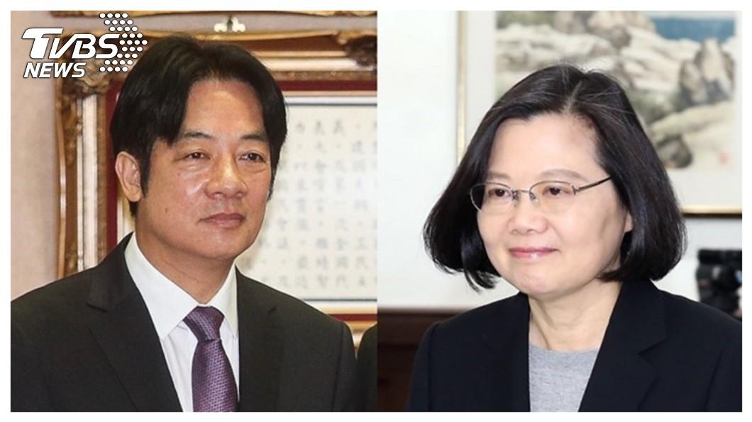 2020大選進入倒數階段。圖/TVBS資料畫面 初選後首次同框! 蔡英文:我們很團結