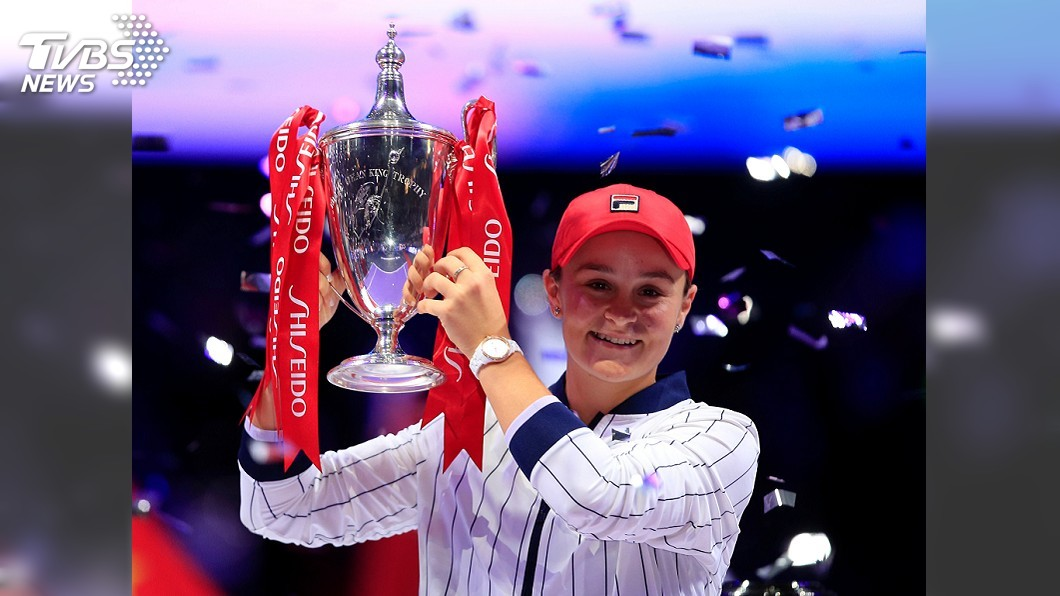圖/達志影像路透社 WTA年終總決賽 球后巴蒂奪冠抱走逾一億元獎金