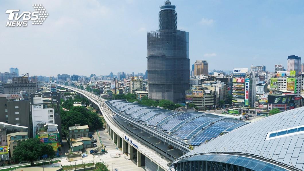 圖/台中市政府提供 擬取消自償率 林佳龍:鐵路立體化交通部擔大任