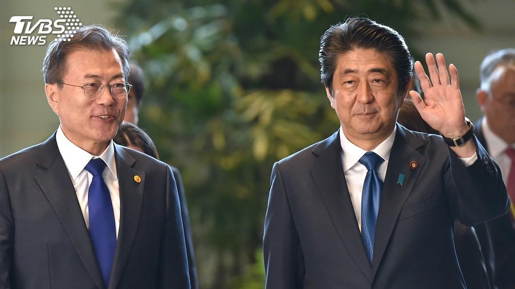 圖/達志影像路透社 日韓貿易戰後首度會談 文在寅、安倍主張對話化解