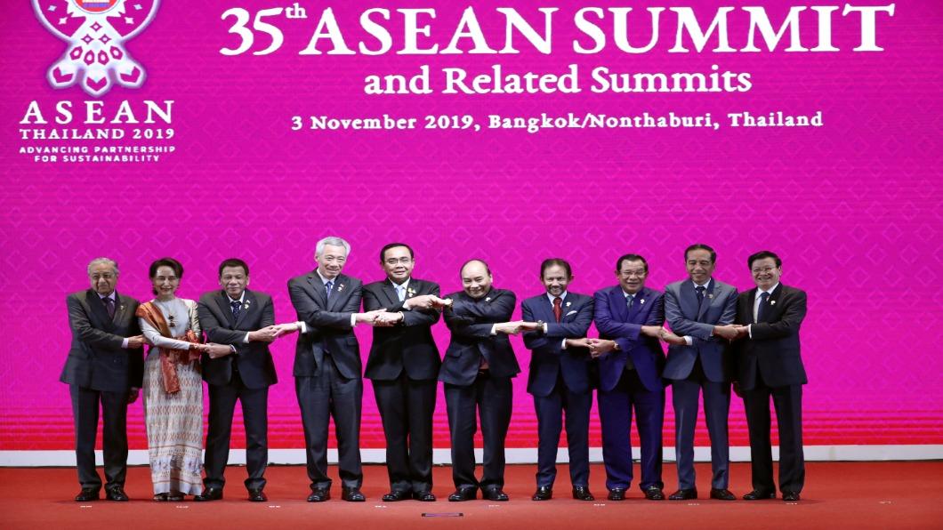 圖/達志影像路透 東協峰會泰國登場 聚焦RCEP.可望明年簽署