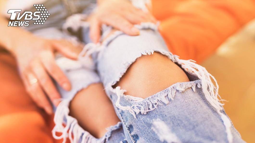 示意圖/TVBS 她揭破褲隱藏版好處 1動作網讚翻:真的方便!