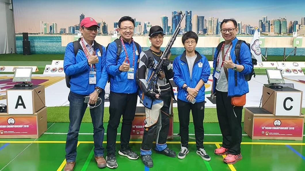 圖/呂紹全提供 快訊/射擊男子10公尺空氣步槍 呂紹全無緣8強決賽