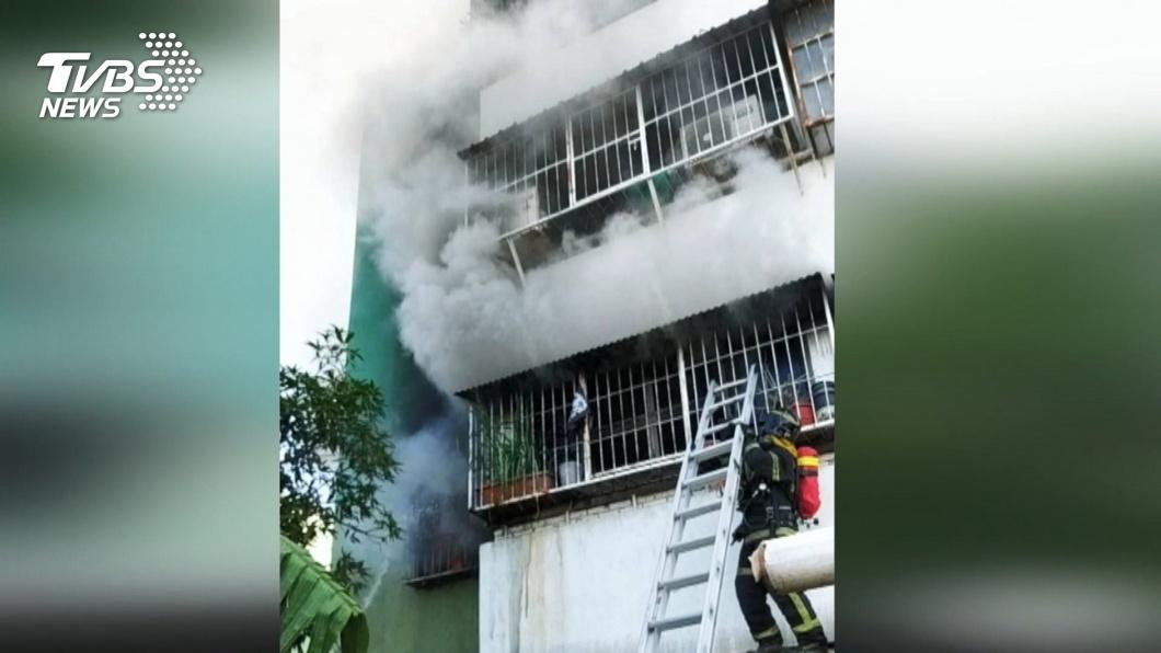 圖/TVBS 女消防員稱「怕火」拒進火場 將送公懲會建議淘汰
