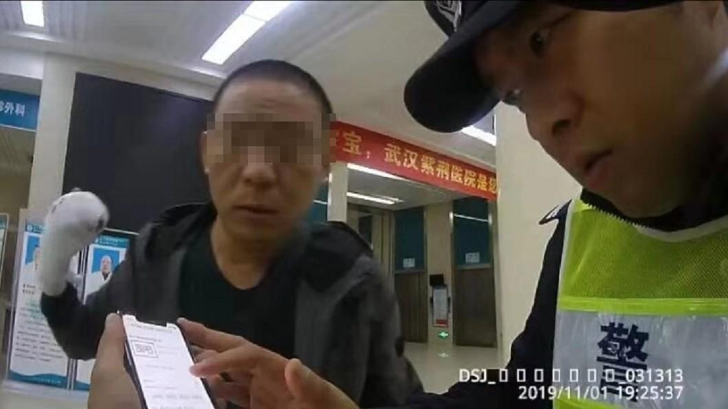 警方正幫忙協尋 (圖/翻攝自新浪新聞) 到院「斷指」忘車上 電台急尋司機