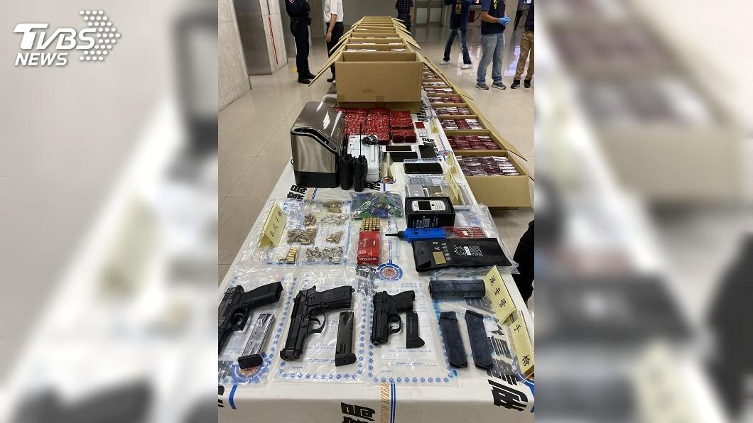 圖/中央社 刑事局偵破幫派成員涉運毒 市價逾3億
