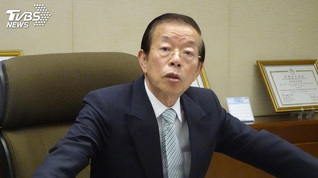 圖/中央社 韓國瑜拋外館賣農產品 謝長廷:恐有觸法問題
