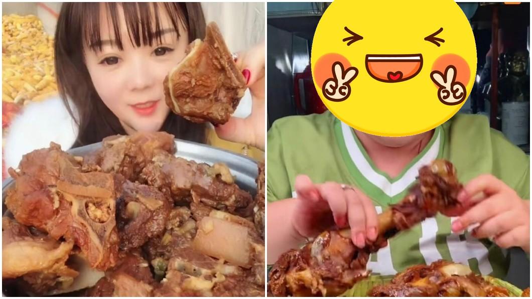 圖/翻攝自微博 吃播增30公斤!身材變化照驚呆網友 正妹網紅:不後悔