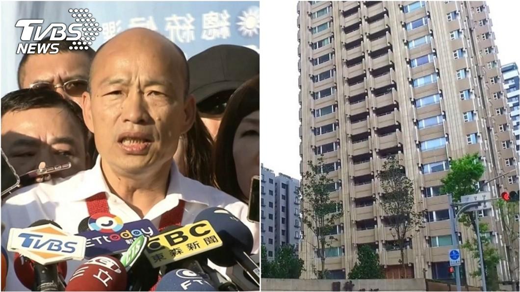 圖/TVBS資料畫面 「豪宅案恐是黑韓前菜」 他百字文怒轟:又是媽祖託夢?