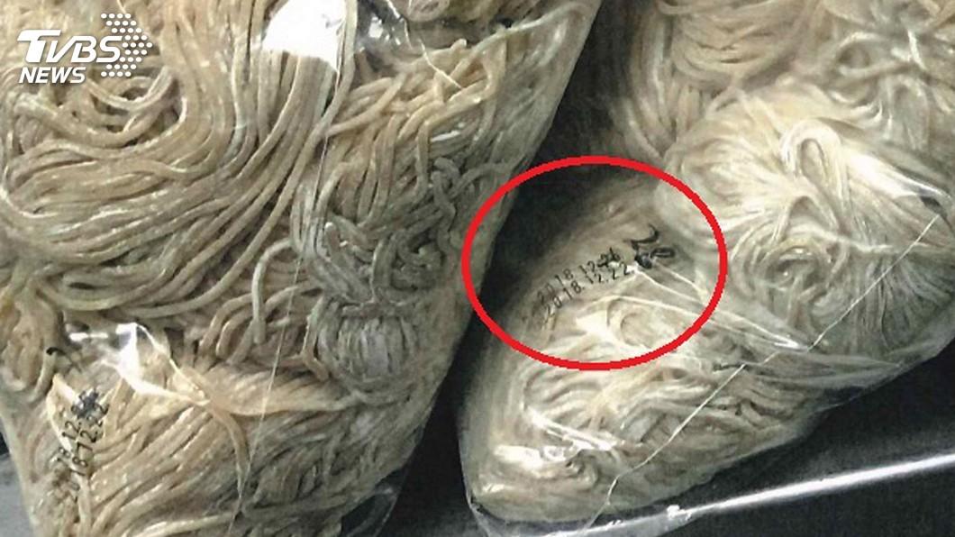 圖/檢方提供 知名牛肉麵爆連續用過期改標麵條 中檢起訴3人