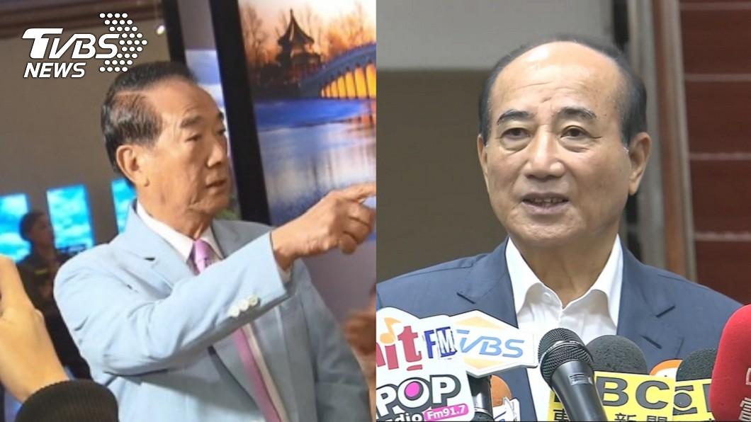 親民黨主席宋楚瑜(左)、前立法院長王金平(右)。圖/TVBS資料畫面 自爆拒當宋副手 王金平:你又知道門票不會給我?