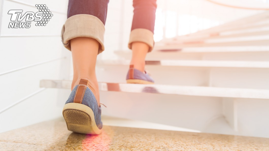 示意圖/TVBS 人妻住18樓硬要爬樓梯 尪調監視器「頭頂秒綠」