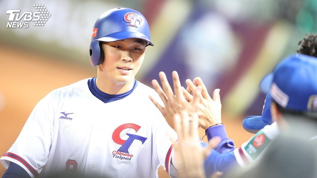 圖/中央社 12強複賽中華隊戰墨西哥 王柏融改打第3棒