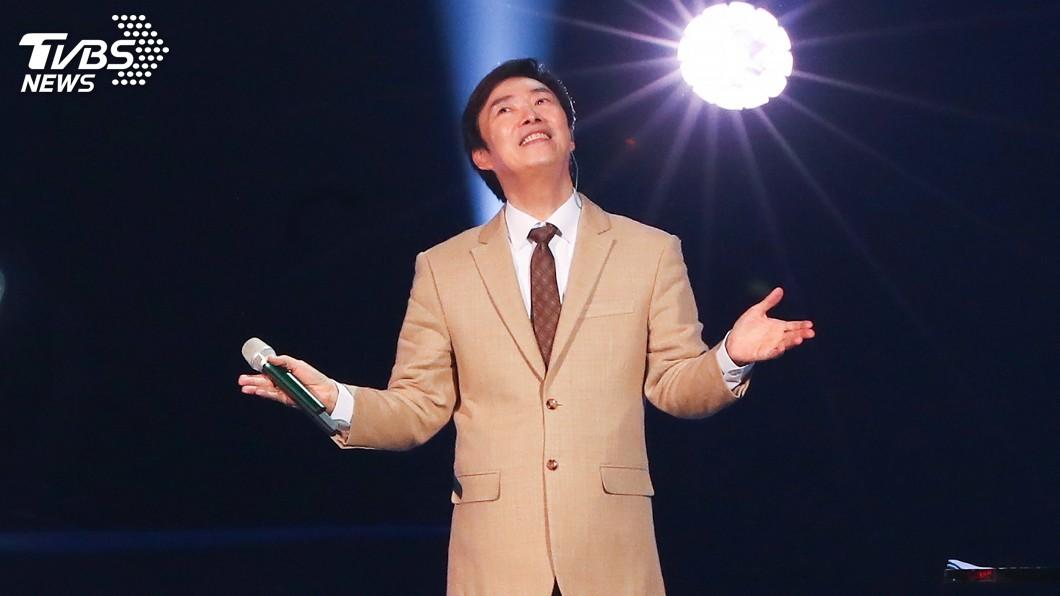 圖/中央社 Farewell 小哥! 費玉清演唱會學告別的英文