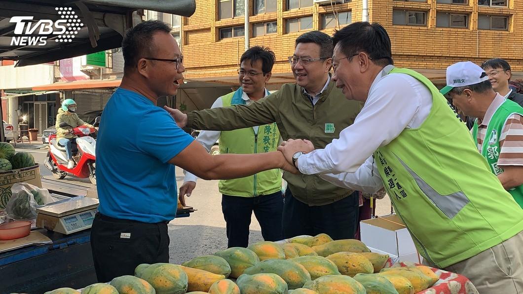 圖/中央社 卓榮泰:蔡總統躍起 大家不會再看到「韓流」