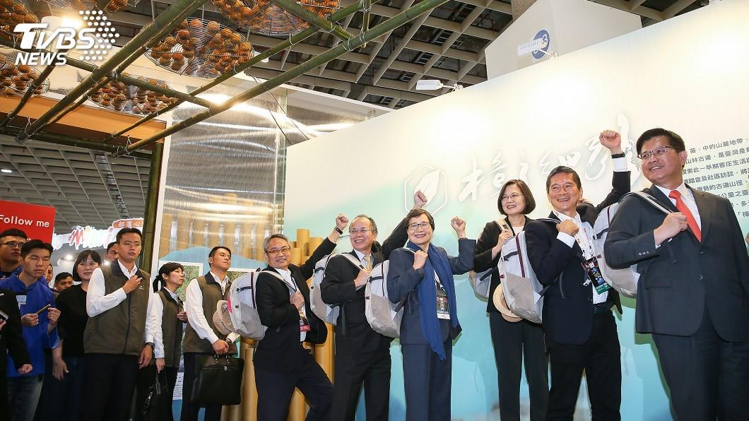 圖/中央社 來台觀光客再成長 蔡總統支持觀光局升格觀光署