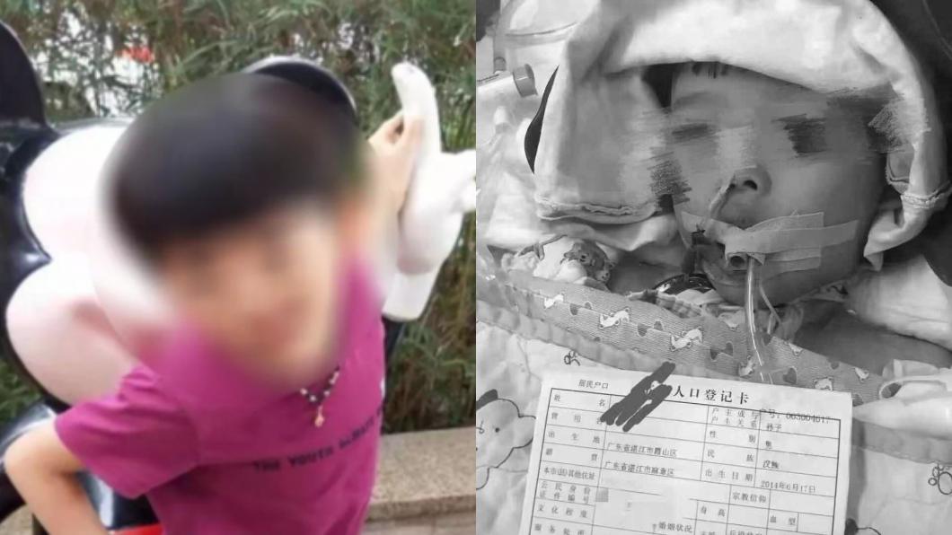 圖/翻攝自微博 午餐吃完狂吐抽搐!5歲童慘死 家屬淚曝:驗出老鼠藥