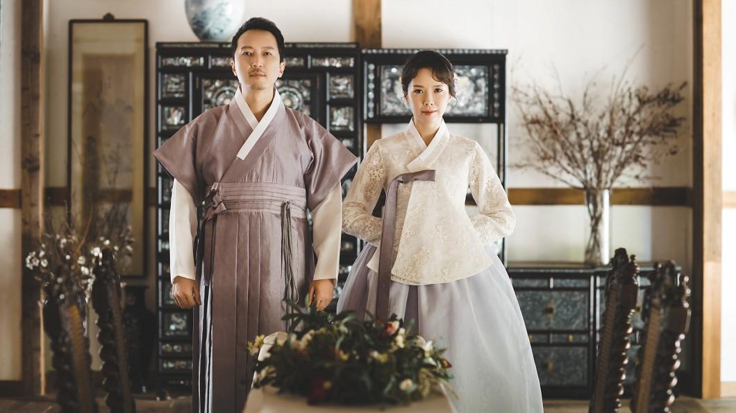 圖/福隆經紀公司提供 天心結婚3年才拍韓風婚紗 唯美浪漫甜炸了