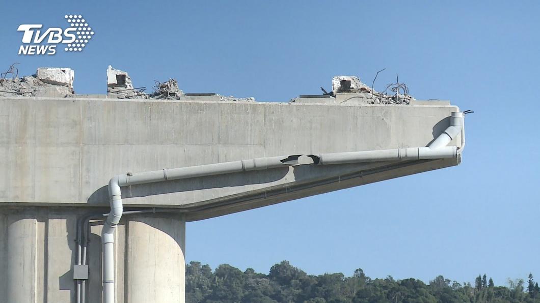 直擊國4 橋墩鋼筋、石塊外露 僅部分防護