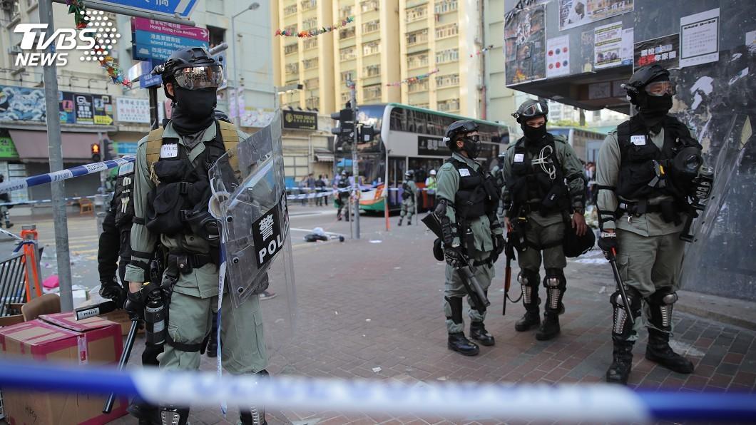圖/達志影像美聯社 香港反送中三罷再傳槍響 示威者中彈送醫搶救