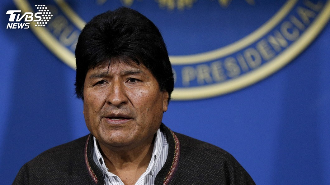 圖/達志影像美聯社 玻利維亞總統宣布下台 14年掌權生涯一次看