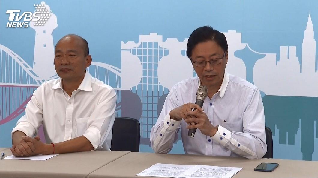 圖/TVBS 「國政配」成形! 張善政親曝出任韓國瑜副手3理由