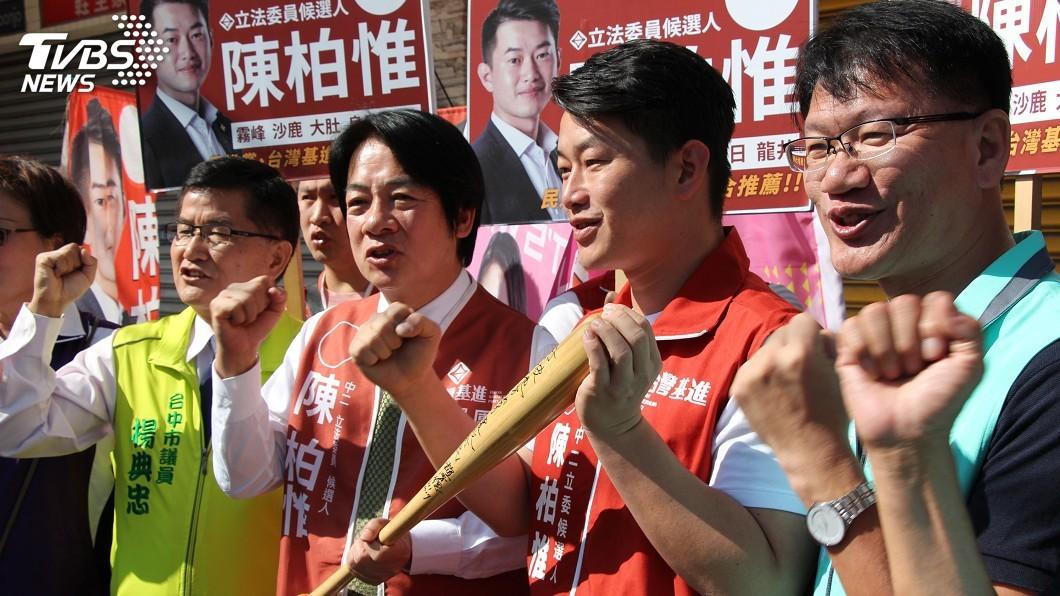 圖/中央社 韓國瑜搭檔張善政參選正副總統 賴清德:嚴陣以待