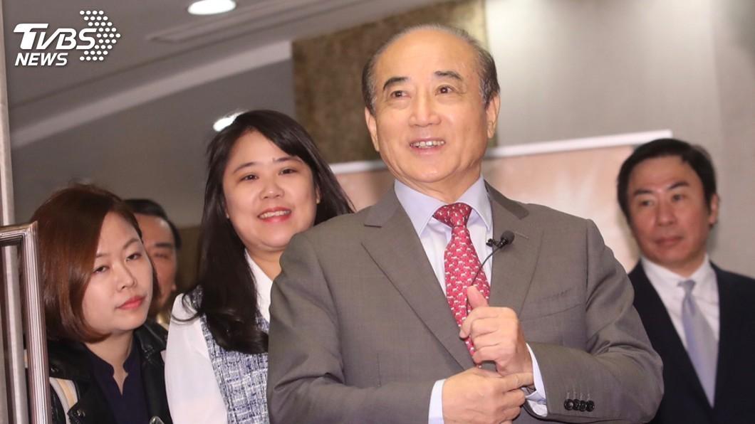 圖/中央社 傳「郭宋配」有望 王金平:為民服務心意始終不變