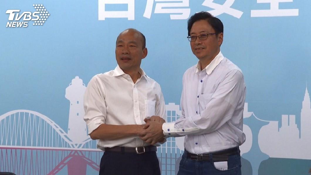 圖/TVBS 民進黨:張善政出線不意外 韓張配是「跳票組合」