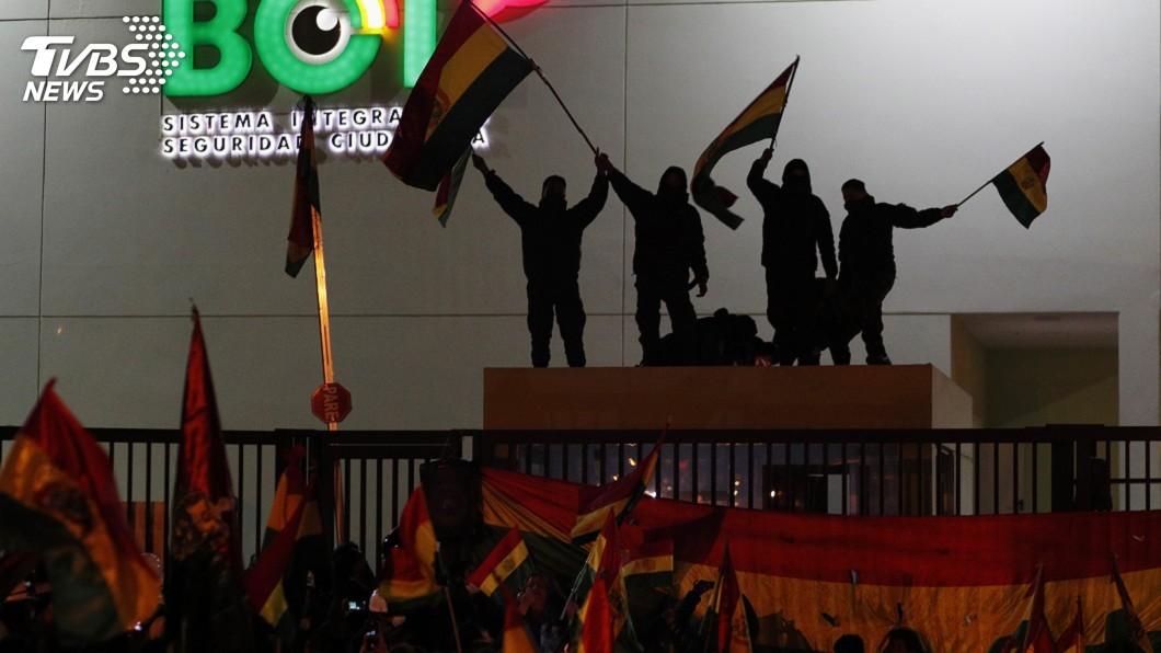 圖/達志影像美聯社 總統因選舉舞弊下台 玻利維亞政局群龍無首