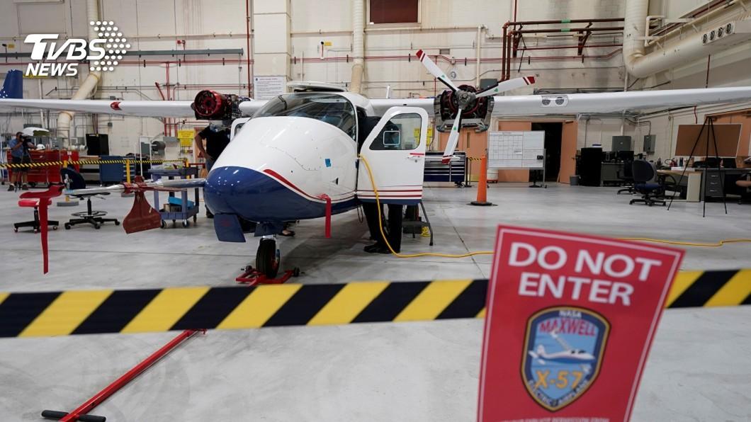 圖/路透社 NASA研發全電動客機 最快1年後試飛