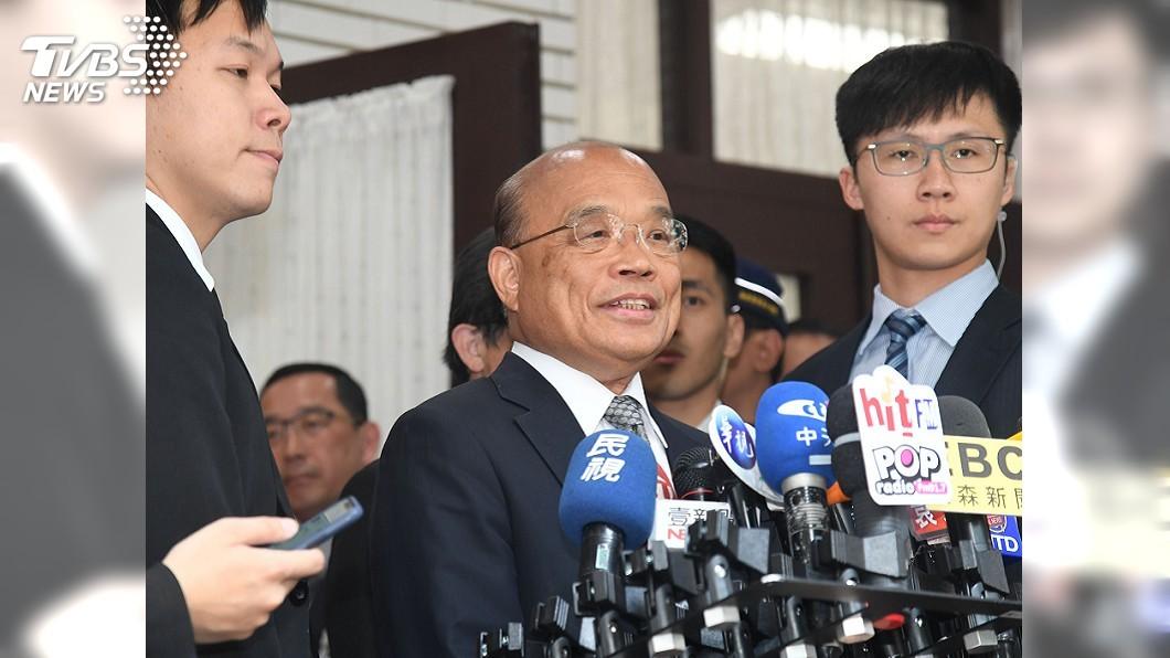 圖/中央社 新式戰機採購 蘇揆:台灣是美印太戰略重要夥伴