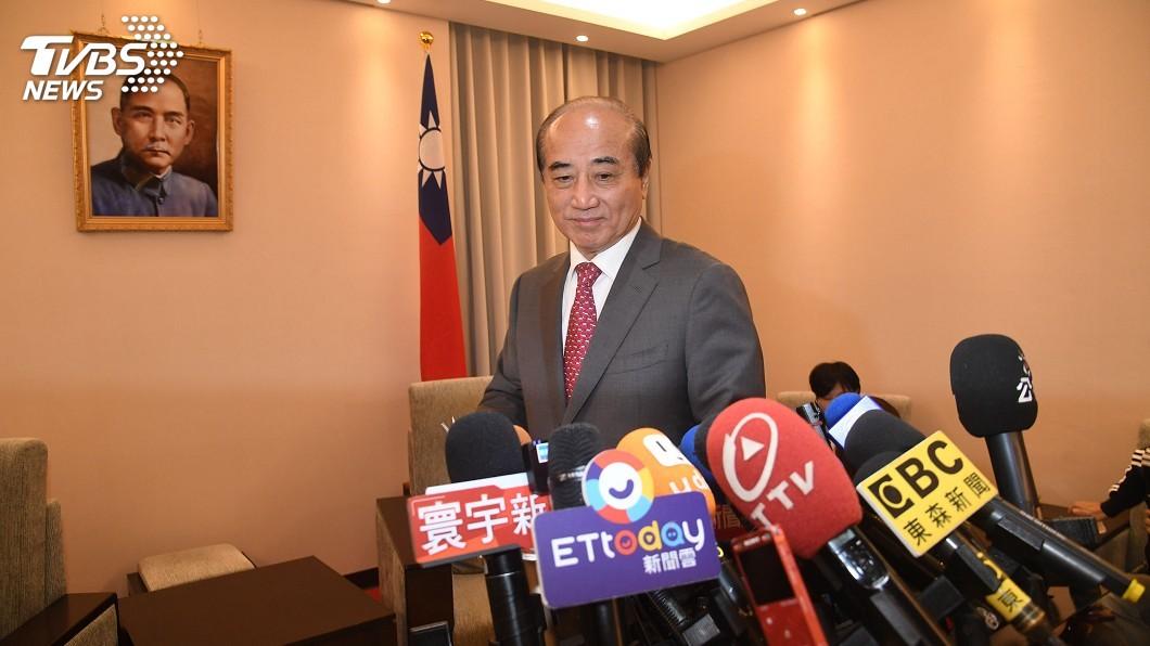 圖/中央社 宣布退出總統選舉 王金平:宋楚瑜告知決定參選