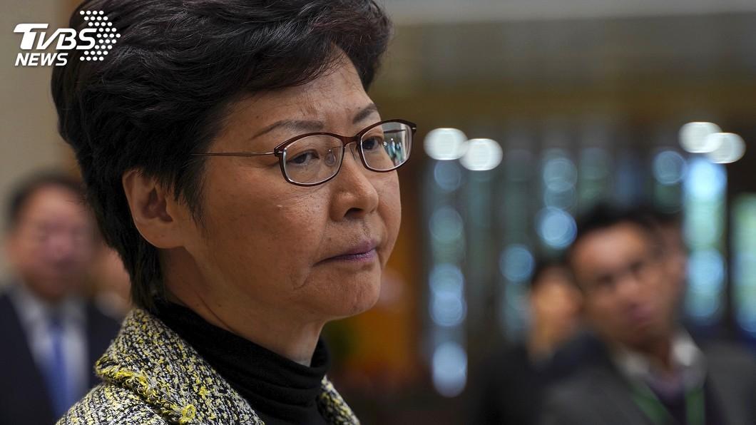 圖/達志影像美聯社 泛民派翻轉大勝 林鄭月娥:尊重並反思結果