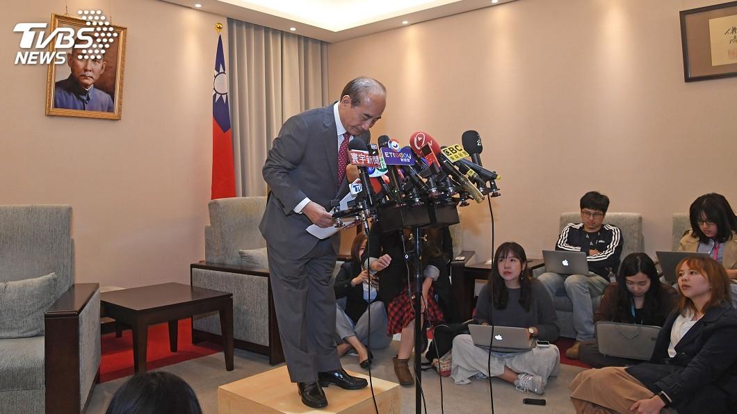圖/中央社 王金平宣布退選 韓陣營盼共同下架蔡政府