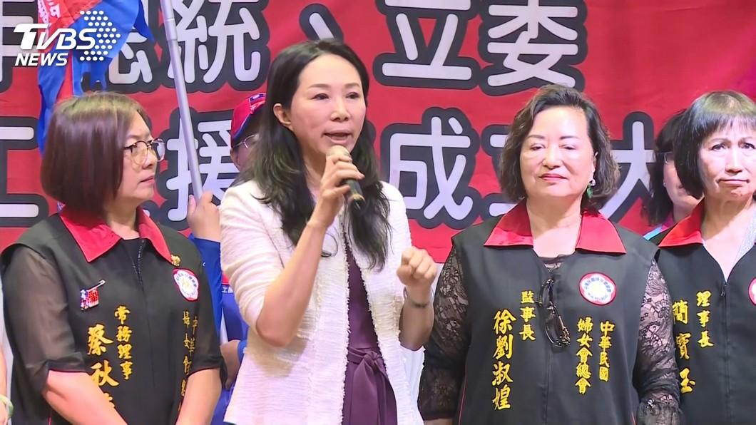 圖/TVBS 快訊/李佳芬明訪日本! 為棒球12強中華隊集氣