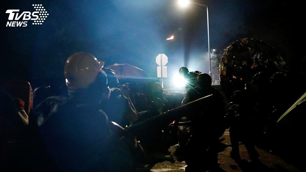 圖/達志影像路透社 港警民暴力升級 美議員盼參院通過《香港法案》