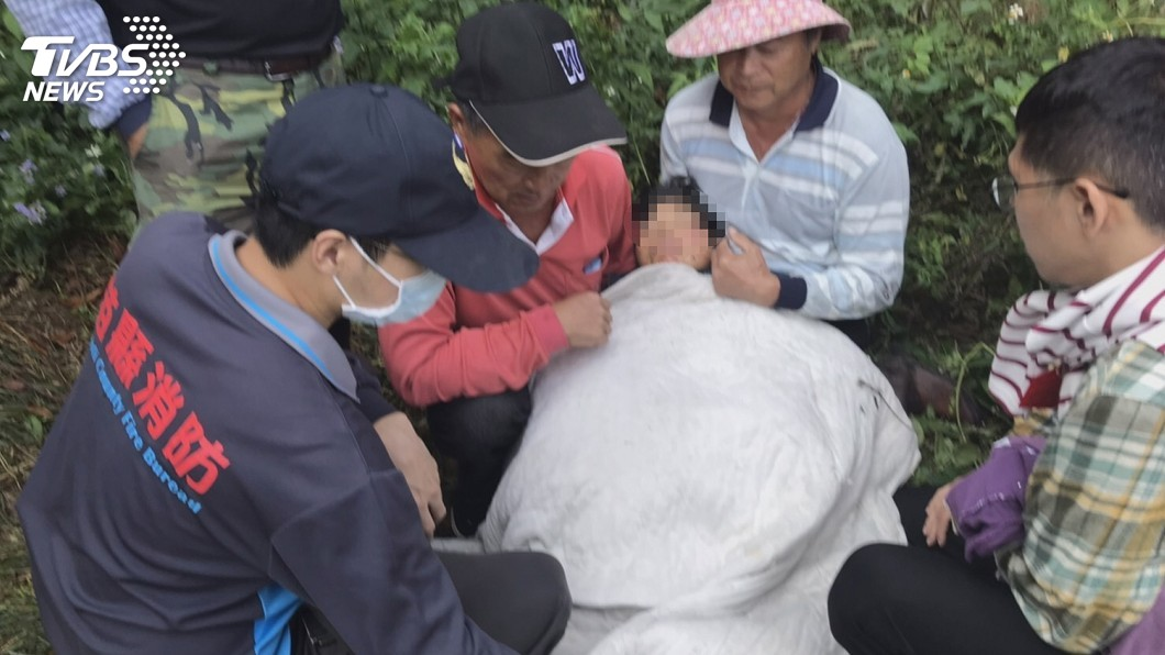 動員上百人搜山 身障婦失聯43小時躺果園遭尋獲