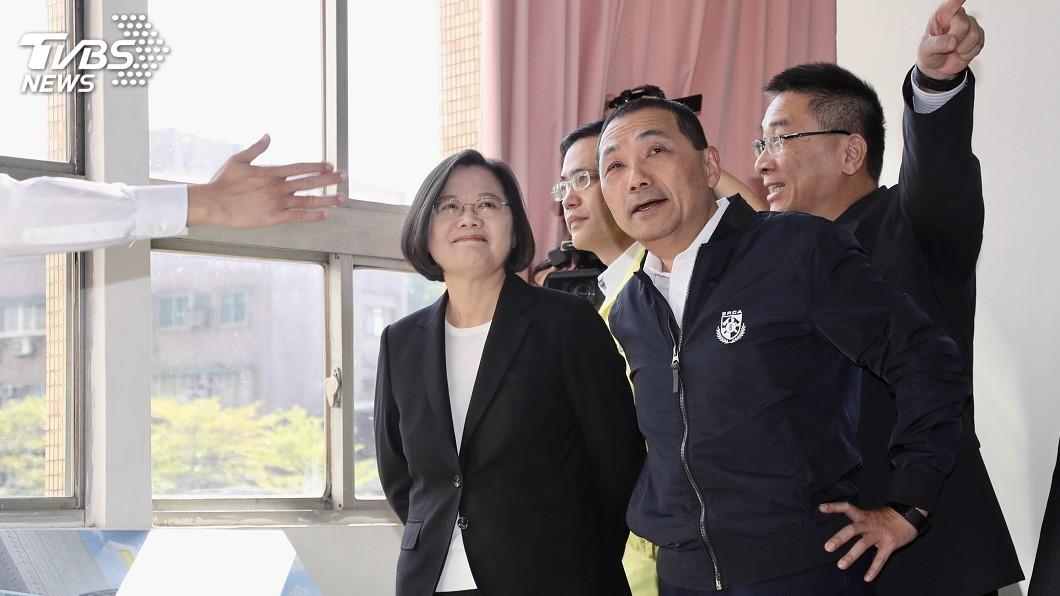 圖/中央社 蔡總統:房屋及住宅政策 現階段國家最重要挑戰