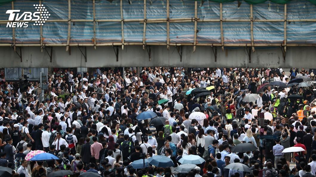 圖/達志影像路透社 港中大衝突升級 陸委會應要求協助台生返台