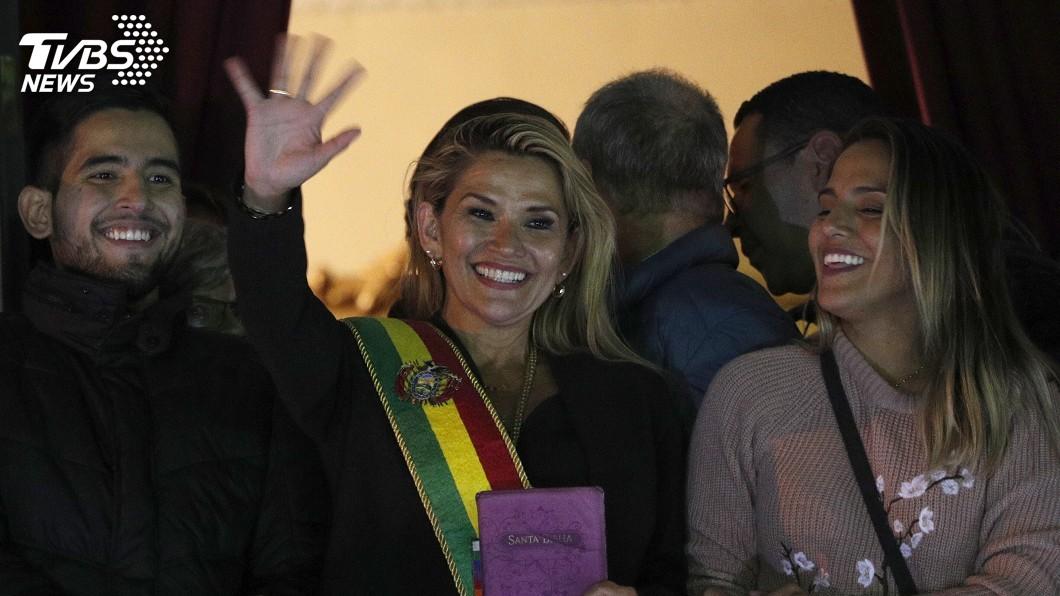 圖/達志影像美聯社 正副總統都流亡 玻利維亞參院副院長接臨時總統