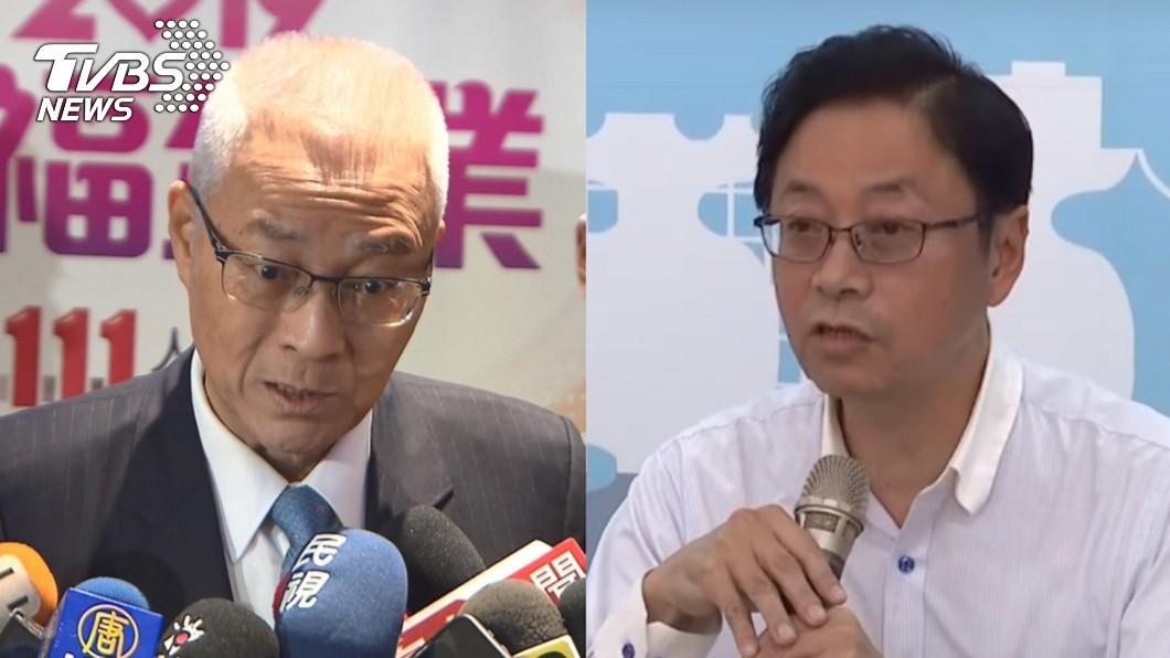 國民黨黨主席吳敦義(左)、前行政院長張善政(右)。圖/TVBS資料畫面 韓營「切割」不分區? 張善政:政黨票可投民眾黨啊
