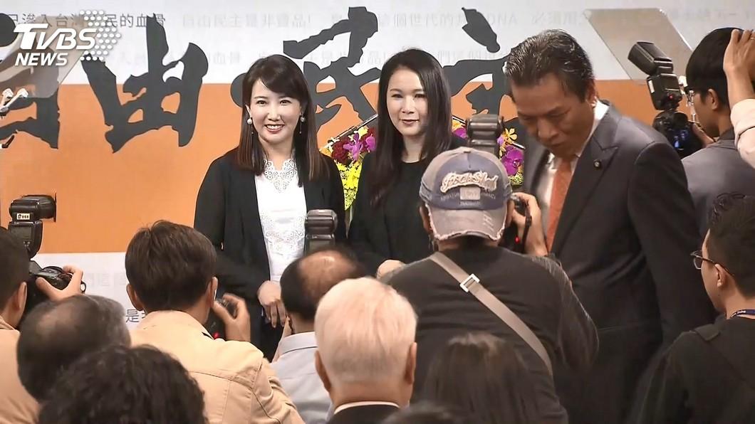 圖/TVBS 快訊/親民黨不分區 劉宥彤、蔡沁瑜確定排前兩名