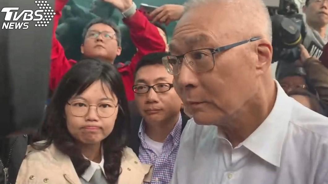圖/TVBS 暴走舌戰青壯代!吳敦義:「以我資歷,選總統過分嗎?」