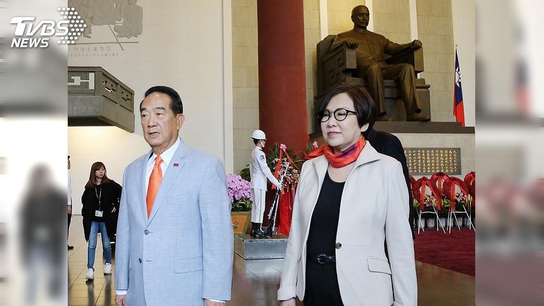 圖/中央社 宋楚瑜:港一國兩制模式 對台灣沒有任何吸引力