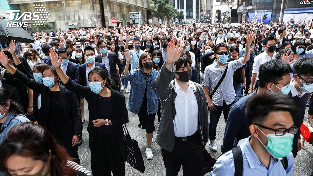 圖/達志影像路透社 美參議員:《香港法案》有重大進展 年底前就能通過