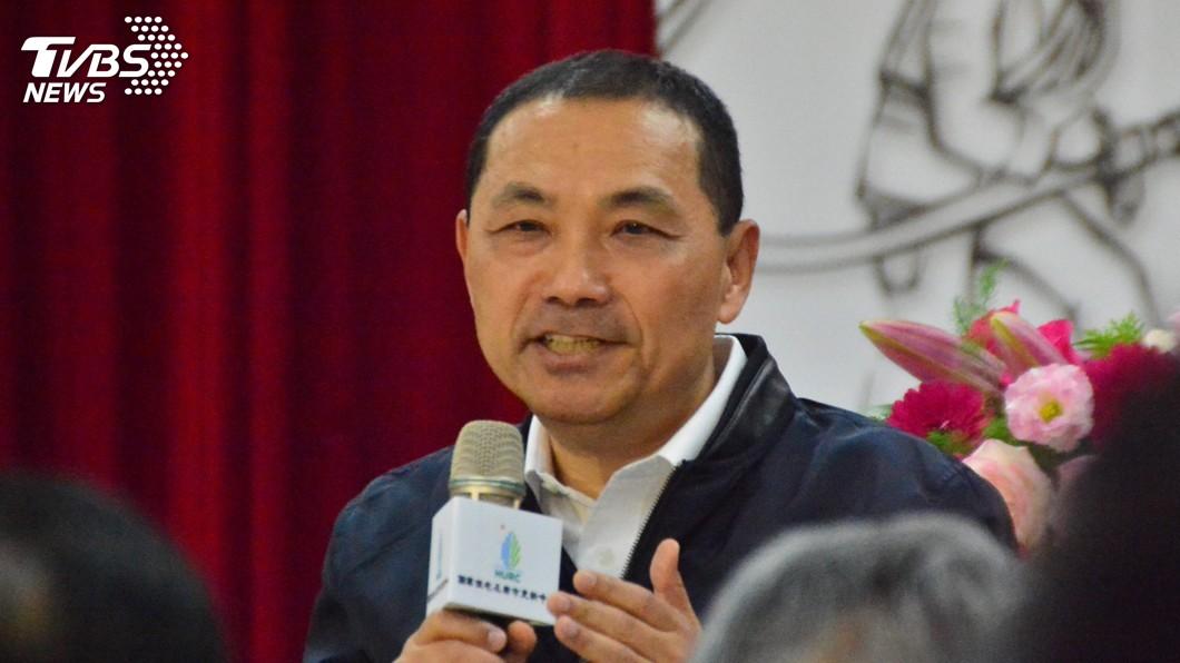 圖/中央社 談核能政策 侯友宜:兩黨惡鬥國家悲哀