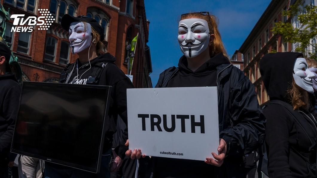 示意圖/TVBS 小人物對抗體制象徵 全球抗議都見V怪客、小丑